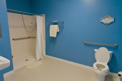 Some rooms equipped with handicapped facilities